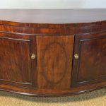 George III Mahogany Side Cabinet or Credenza