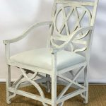 Mid-20th Century Regency Style Sculptural Armchair