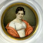 19th Century Italian Portrait Miniature