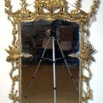 George II Chinese Chippendale Wall Mirror