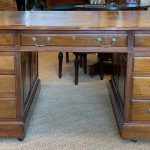Early 20th Century English Partners Desk