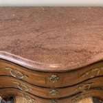 Louis XV Serpentine Front Commode
