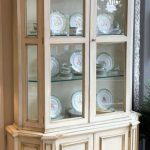 Painted Neoclassical Display Cabinet