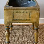 19th Century English Paint Decorated Planter