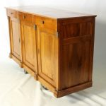 19th Century French Cherrywood Buffet Cabinet