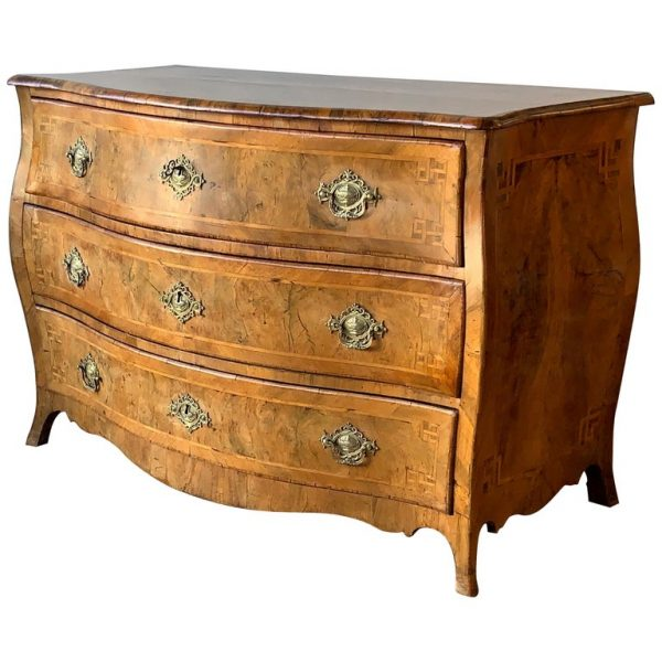 18th Century Northern European Bombe Commode