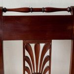 Set of Eight 19th Century Directoire Style Dining Chairs