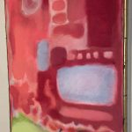 Large Abstract Painting in the Style of Mark Rothko