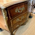 French Louis XV Style Bombé Commode
