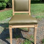 Set of Four 19th Century Regency Style Dining Chairs