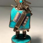 Sterling Silver and Turquoise Kachina
