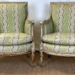 Pair of 18th Century French Bergeres