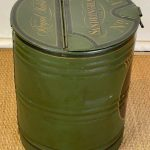Early 20th Century Paint Decorated Tole Feed Bin